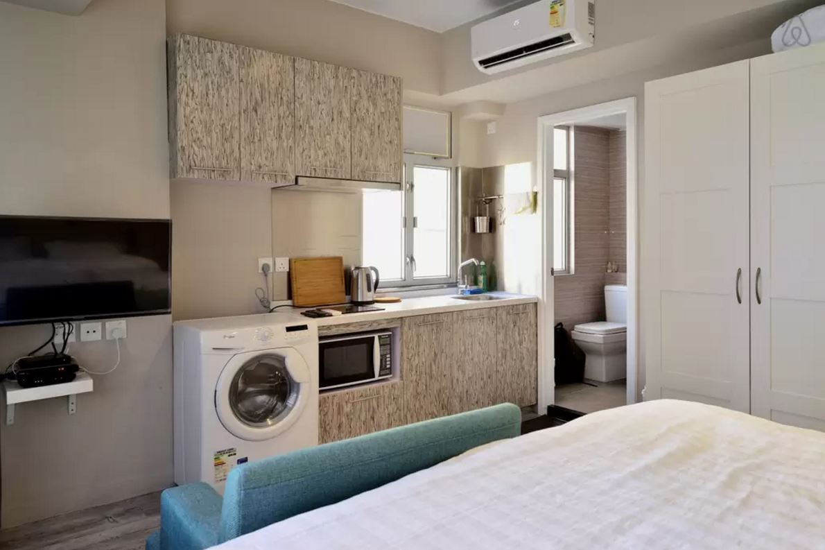 affordable service apartments HK kitchen main